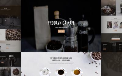 Izrada sajta za prodavce kafe
